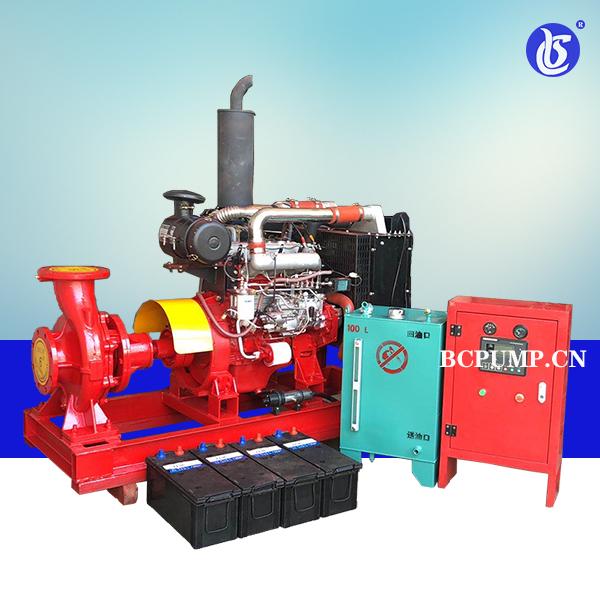XBC-W系列柴油机消防泵组