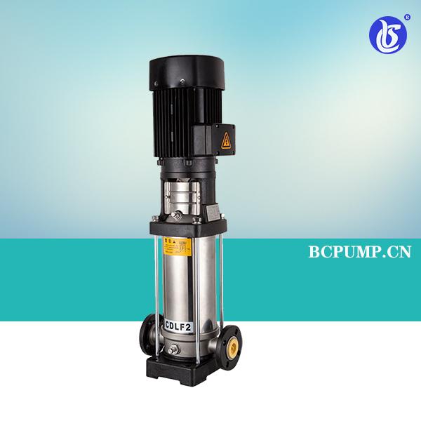 CDL/CDLF系列立式不锈钢多级离心泵