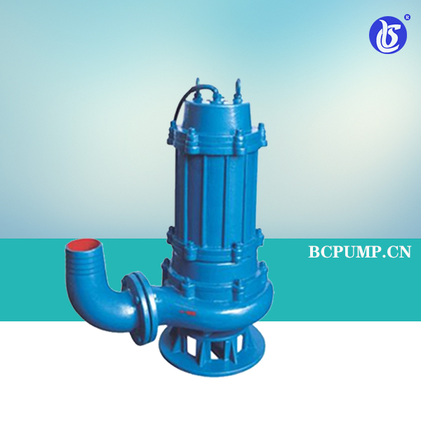 QW潜水式高效无堵塞排污泵